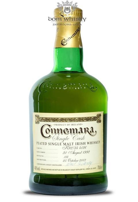 Connemara Peated Single Cask 1992  / 46% / 0,7l
