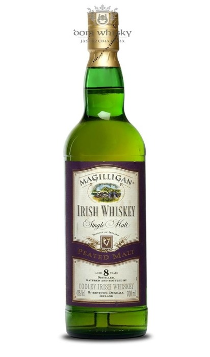 Magilligan 8 letni Peated Malt Irish Whiskey / 43% / 0,7l